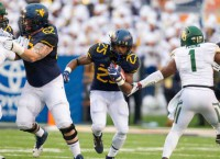 No. 16 West Virginia edges Baylor to reach 10 wins