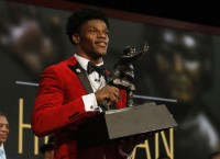 Cards' Jackson becomes youngest to win Heisman
