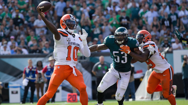 NFL Notebook: Browns turn back to Griffin at QB