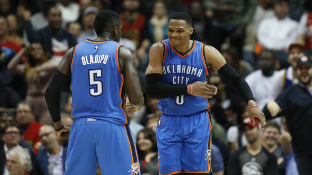 NBA Recaps: Westbrook's triple-double roll extends