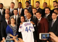 MLB Notebook: Cubs feted at White House