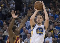 Warriors end Cavs' hex with blowout win