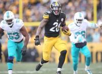Bell, Brown, Big Ben power Steelers past Dolphins