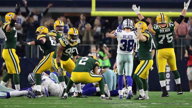 Packers win thriller, advance to NFC title game