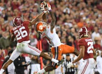 WRs Williams, Scott leave Clemson for NFL Draft
