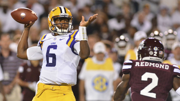 LSU QB Harris to transfer