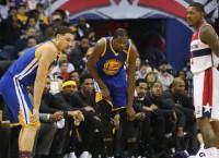 NBA Recaps: Durant hurt in Warriors' loss to Wizards
