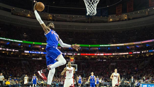 Reports: Mavericks acquire F Noel from 76ers
