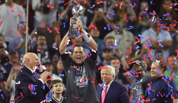 Feb 5 2017 Houston TX USA New England Patriots Quarterback Tom