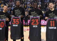 Stars aligning for front-running Warriors