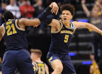 Oregon next obstacle for Cinderella Michigan