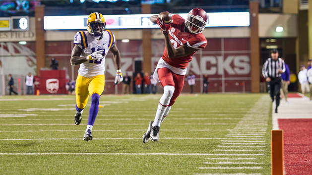 Pro Day Roundup: Arkansas WR Reed shows burst