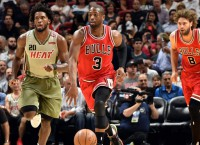 Bulls G Wade out for season with elbow injury