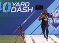 NFL Notebook: Ross smashes Combine 40 time