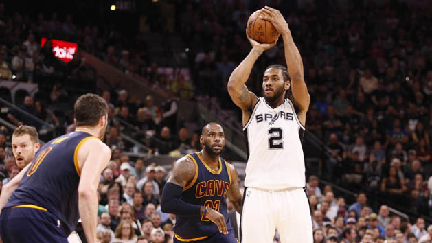 NBA Recaps: Spurs knock Cavs into second place
