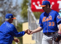 Spring Recaps: Mets' Harvey gets roughed up again