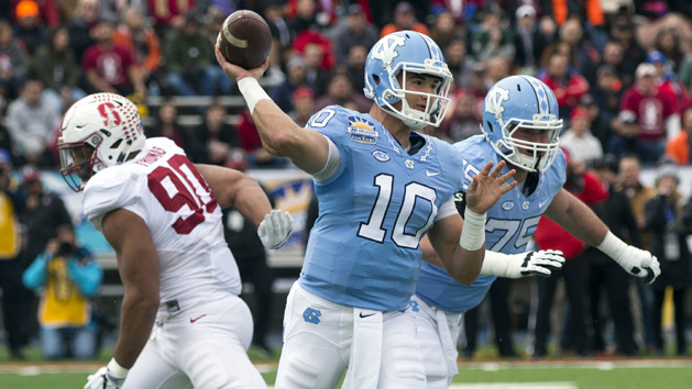 Trubisky solid but not spectacular at UNC Pro Day