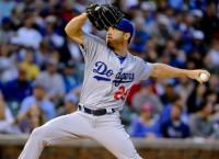 Dodgers' Kazmir leaves spring start with sore hip