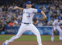 MLB Notes: Jays' Sanchez, Happ out with injuries