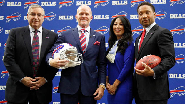 Bills fire GM Whaley day after draft
