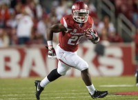 RB Williams suffers stinger in Arkansas' spring finale