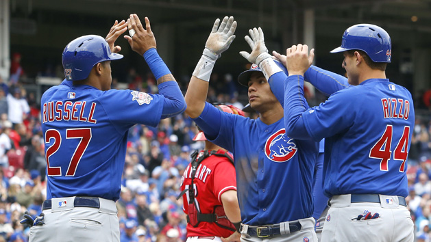 MLB Recaps: Cubs ride HR barrage past Reds