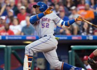 Cespedes hits three homers as Mets crush Phillies