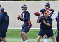 Broncos QB competition heavily scrutinized