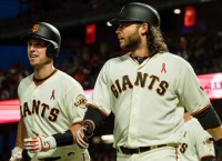 Giants beat Dodgers for fourth straight win