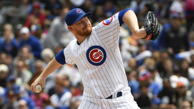 MLB Recaps: Cubs club three HRs in win over Giants
