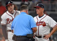 Braves blow out Jays but lose Freeman