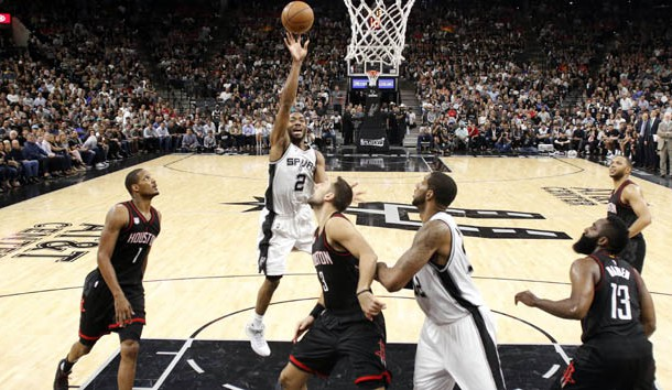 Spurs rebound to beat Rockets 121-96, but lose Parker