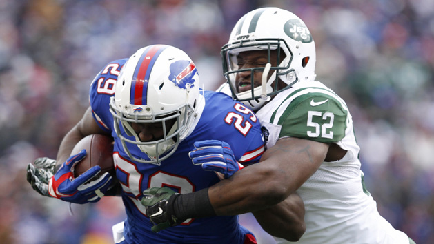 Ex-Jets LB Harris reaches two-year deal with Patriots