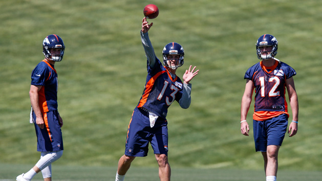 Broncos' QB competition set to being in training camp