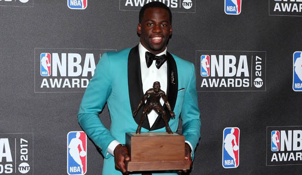 Draymond Green wins 2017 NBA Defensive Player of the Year