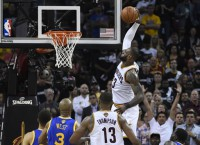 James passes Jordan for third in NBA Finals scoring