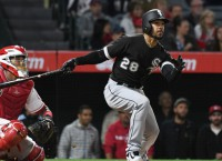 White Sox place CF Garcia (sprained finger) on DL