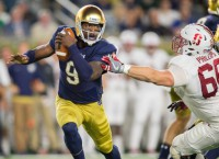 Former Notre Dame QB Zaire transferring to Florida