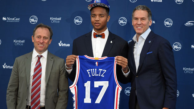 76ers tab Fultz with No. 1 pick of NBA draft