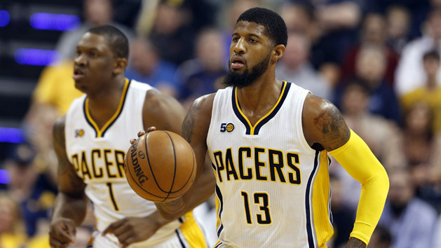 Pacers reportedly talking with Lakers about George