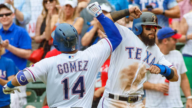 MLB Recaps: Gomez hits two HRs in Rangers' win