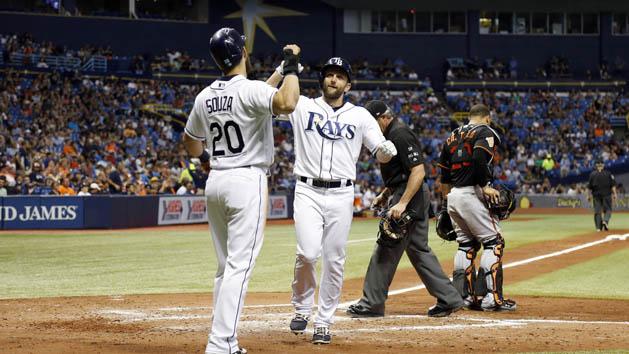 MLB Recaps: Rays beat up on Orioles