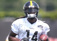 Depth of Steelers' receiver corps outstanding