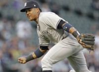 Yankees' Castro exits due to hamstring strain