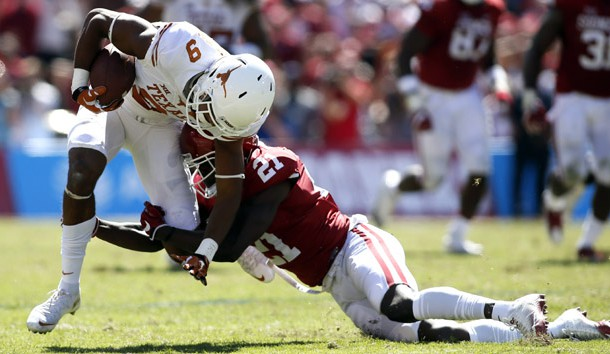 Sooners' Sunderland charged with felony burglary