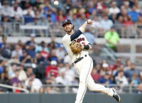 Braves SS Swanson sent to Triple-A