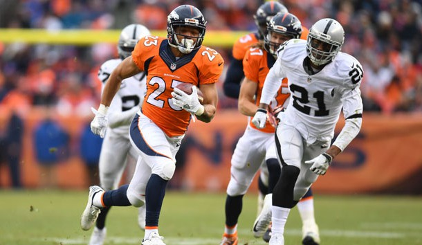 Broncos RB Devontae Booker Placed On PUP List With Injured Wrist
