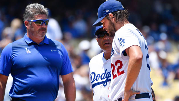 Dodgers' Kershaw expected to miss 4-6 weeks