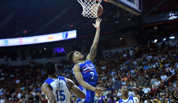 Top draft pick Fultz sprains ankle in Sixers' summer league outing