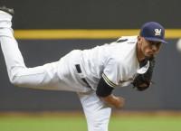 Garza, Broxton help Brewers cap sweep of Orioles